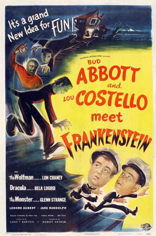Poster - Abbott and Costello Meet Frankenstein_01