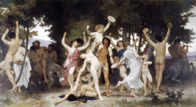 William-Adolphe-Bouguereau-The-Youth-of-Bacchus