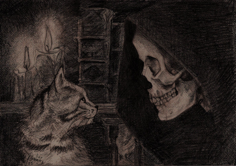 death_with_kitten___discworld_by_wichrzyciel-d3lit1x