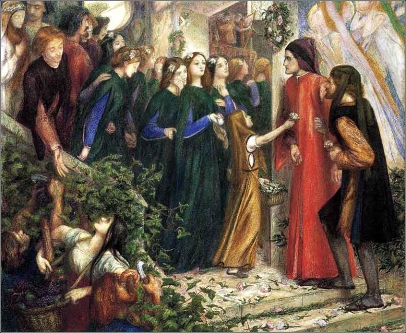 Rossetti_The_Wedding_of_Saint_George_and_the_Princess_Sabra