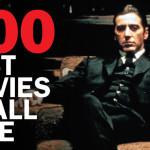100 лучших фильмов за всю историю кино. Опрос актеров