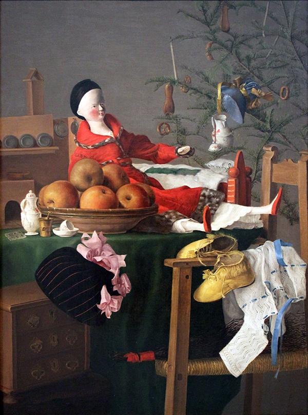 1840_Weihnachten_Maedchen-Gabentisch_anagoria