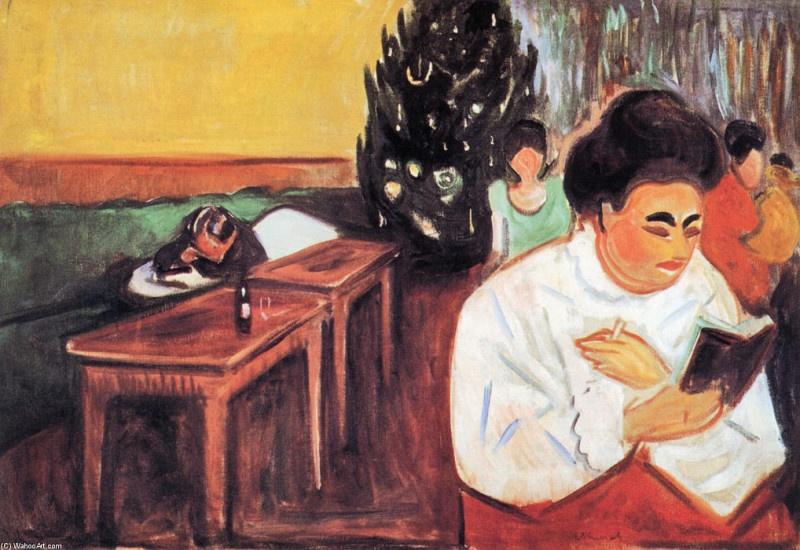 Edvard-Munch-Christmas-in-the-Brothel
