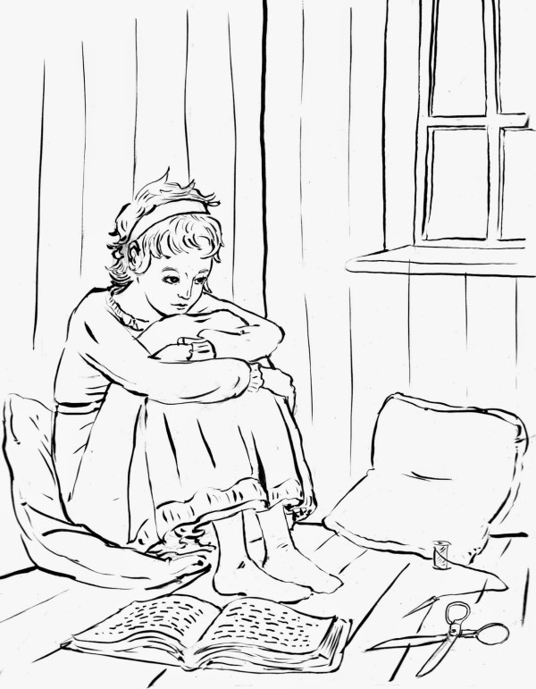 -The Dressing Room- from YOUNG JANE AUSTEN