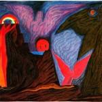 В Музее Модерна открывается выставка антропософской живописи