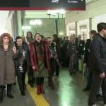 Триумфальный флешмоб Самарской Оперы на Павелецком вокзале. Видео