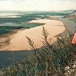 Послевоенный поселок Управленческий и Волга в объективе маленького немца