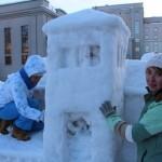 Архитектурное осмысление зимы