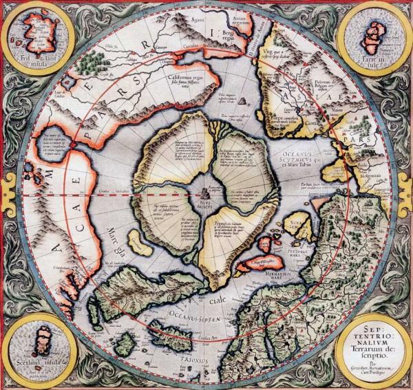 3_Гиперборея Карта Меркатора