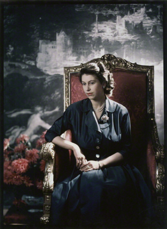by Cecil Beaton, cibachrome print from original transparency, 14 December 1948