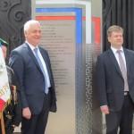 В Марселе открыт памятный знак русским воинам, созданный самарскими архитекторами и меценатом