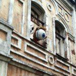 Клаус собирает средства для создания новых работ на крышах Самары