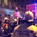 На Ленинградской 77 — пожар, пострадавших нет