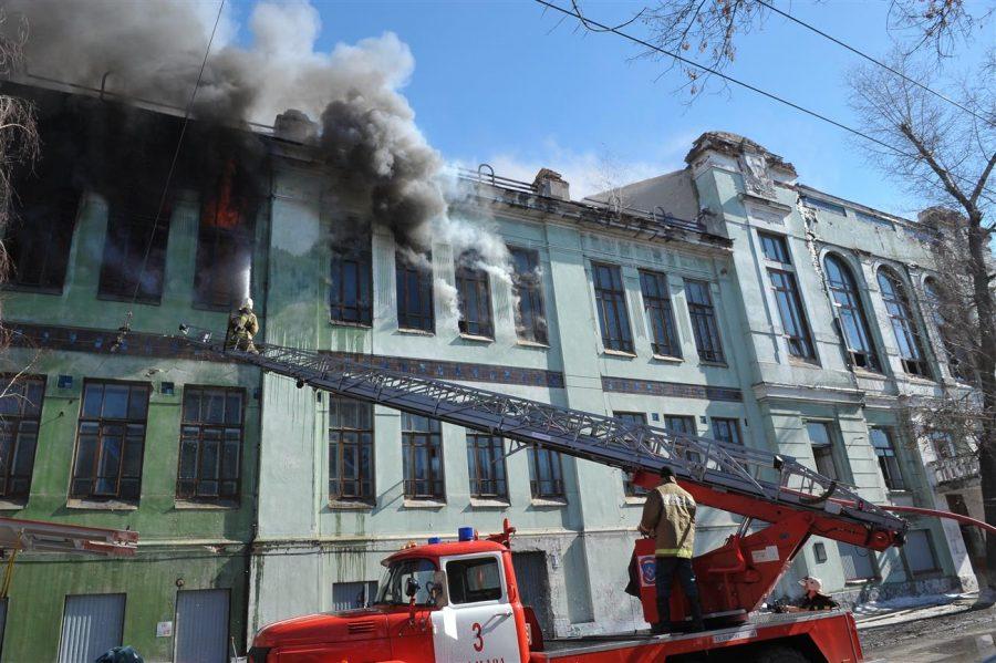 Пожар в Реальном училище