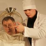 В Доме актера — премьера спектакля по «Запискам сумасшедшего» Гоголя